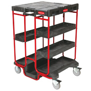 View: Rubbermaid 9T57 Ladder Cart